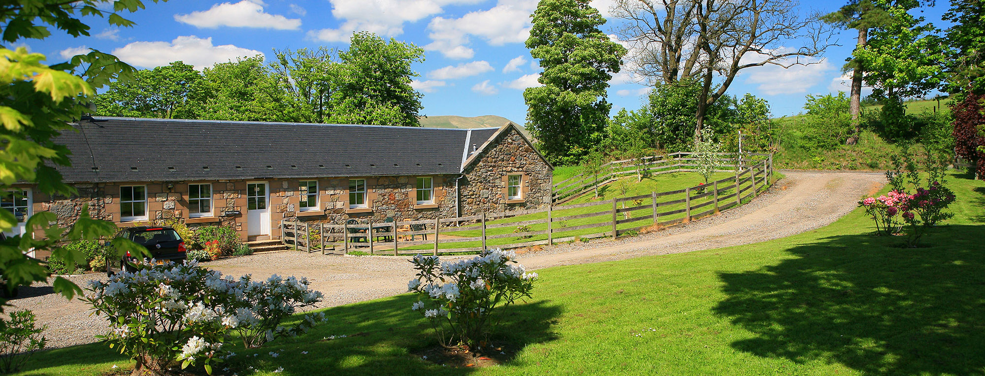 countryside holiday home Dollar, Clackmannanshire