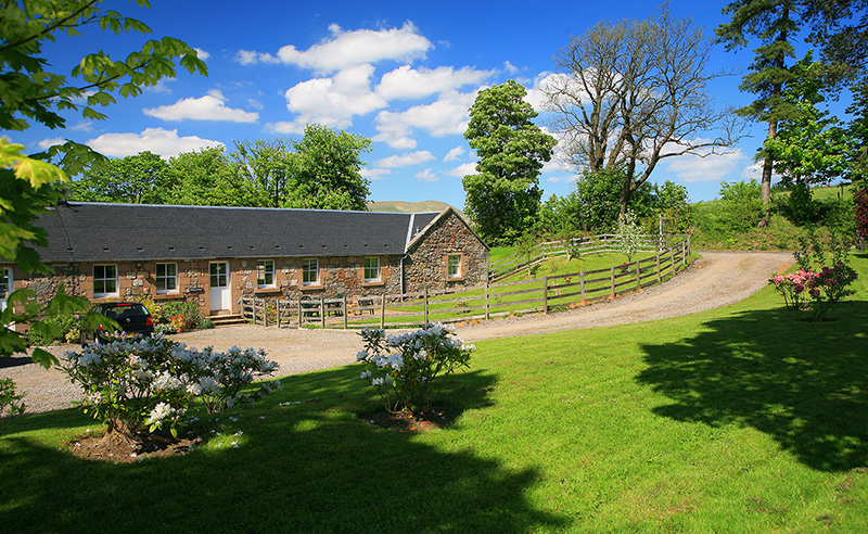 holiday cottage clackmannanshire